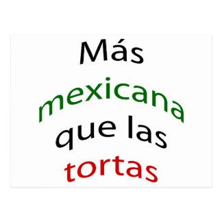 Mas Mexicana Que Las Tortas Tarjetas Postales