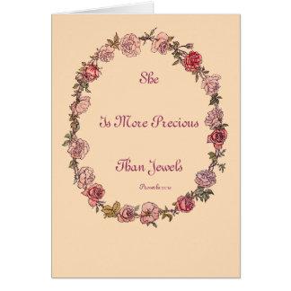Más muy tarjetas de felicitación beige de la cita