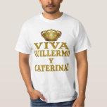 Mas real de Guillermo y Caterina Boda Camisas y Camiseta
