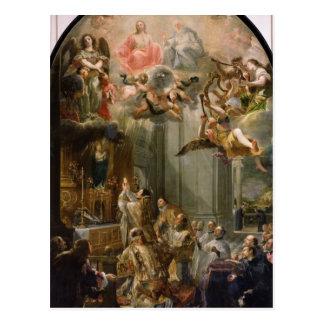 Masa para la orden de Trinitarians, 1666 Postal