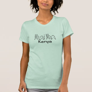 Masai Mara Kenia Camisetas