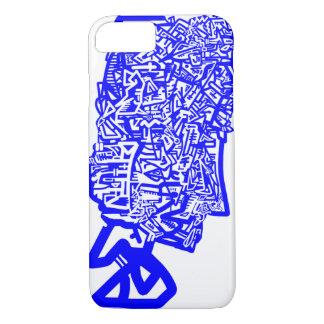 Máscara animal azul funda iPhone 7
