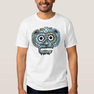 Máscara azteca de Tlaloc del mosaico Camiseta