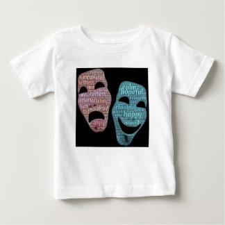 máscara camiseta de bebé