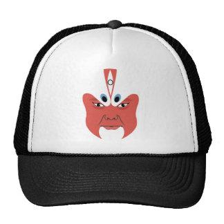 Máscara china 005 de la ópera gorras de camionero