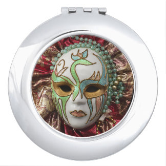 Máscara de Carnavale Espejo Compacto