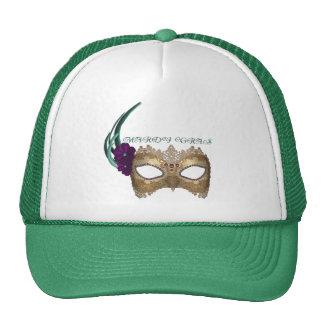 Máscara de lujo del carnaval del KRW Gorra