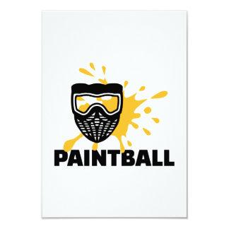 Máscara del chapoteo de Paintball Comunicados