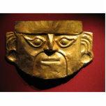 Máscara del oro del inca, Lima, Perú Escultura Fotográfica