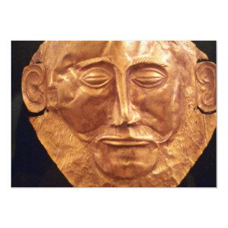 Máscara fúnebre del oro, anuncios personalizados