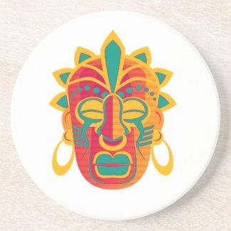 Máscara Posavasos De Arenisca