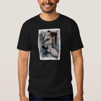 Mascarada del cráneo del unicornio camisetas