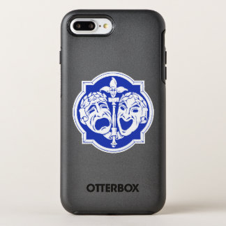 Máscaras 2 del teatro funda OtterBox symmetry para iPhone 7 plus