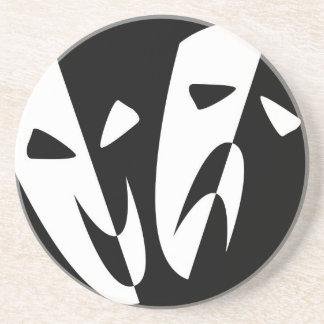 Máscaras de la etapa posavasos de arenisca