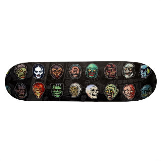 Máscaras del monstruo de la película de terror monopatín 18,7 cm