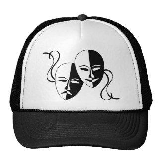 Máscaras del teatro gorro de camionero