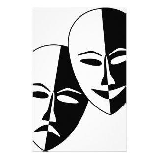 Máscaras del teatro  papeleria