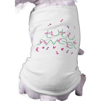 Mascota adaptable T de la bailarina dulce del tutú Camiseta Sin Mangas Para Perro
