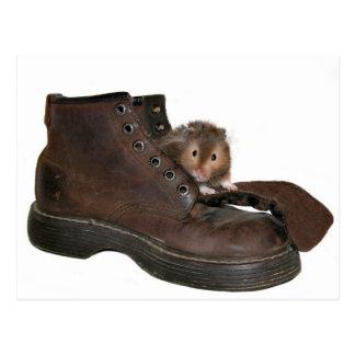 Mascota de la bota postal