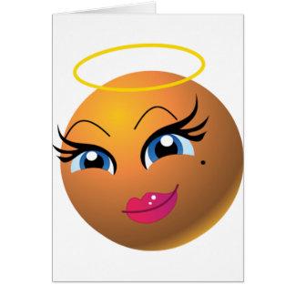 Mascota de la prima del bingo tarjeta de felicitación
