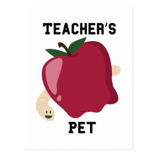 Mascota de los profesores postal
