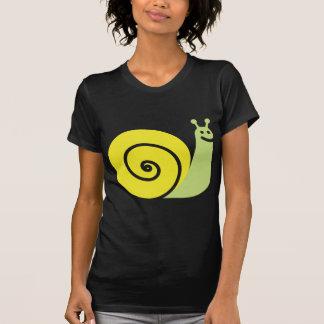 Mascota del caracol camisetas