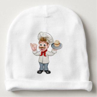 Mascota del dibujo animado de la torta de la gorrito para bebe