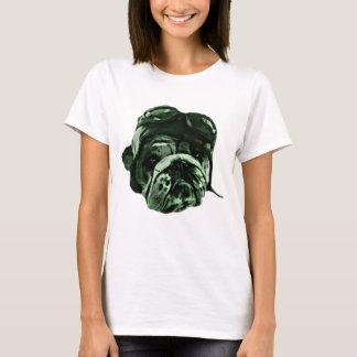Mascota divertido del perro del inconformista camiseta