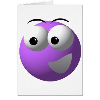 Mascota en línea Mechandise de los juegos del bing Tarjeta De Felicitación