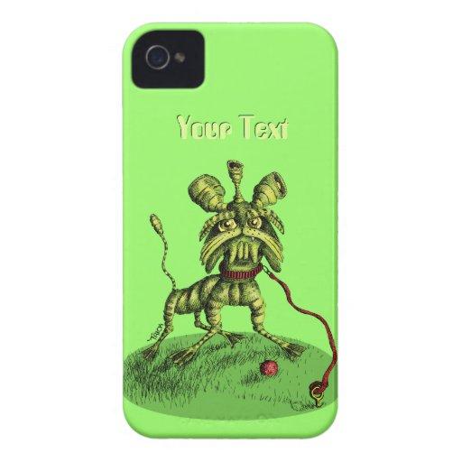 Mascota extranjero - Orkiedoodle iPhone 4 Protector