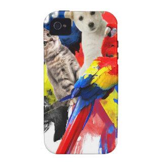 Mascota Huggers iPhone 4 Funda