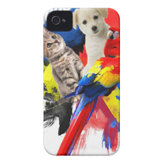 Mascota Huggers iPhone 4 Fundas