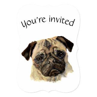 Mascota lindo anticuado personalizado del perro comunicado personal