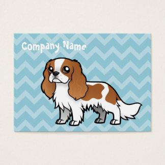 Mascota lindo del dibujo animado tarjeta de negocios