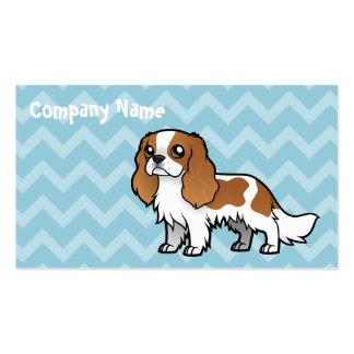 Mascota lindo del dibujo animado tarjeta de visita