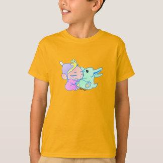 mascota mágico (chica) camiseta