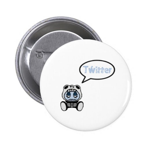 Mascota twitter botones