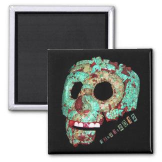 Mask-2012 maya imán cuadrado