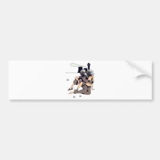 maskes del gas de los pares que llevan etiqueta de parachoque