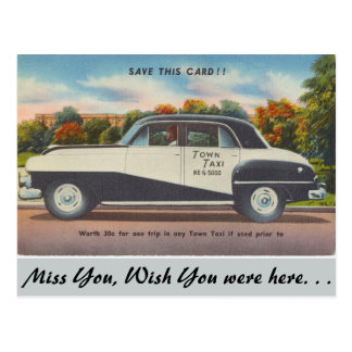 Massachusetts, taxi de la ciudad postal