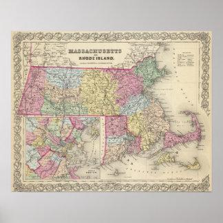 Massachusetts y Rhode Island 2 Póster
