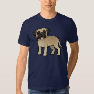 Mastín/Bullmastiff del dibujo animado Camisetas