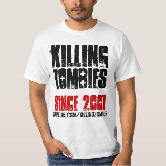 Matar a los zombis EST. 2007 Camiseta