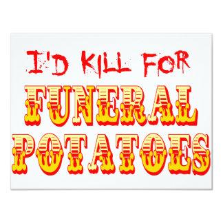 Mataría para las patatas fúnebres comunicados personales