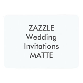 """MATE 7"""" x 5"""" invitaciones del boda Invitación 12,7 X 17,8 Cm"""