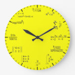 Matematic Clock Relojes De Pared