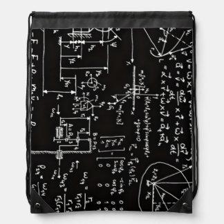 Matemáticas Geeky de la matemáticas Mochila
