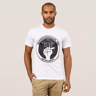 Matemáticos para la camiseta de la solidaridad