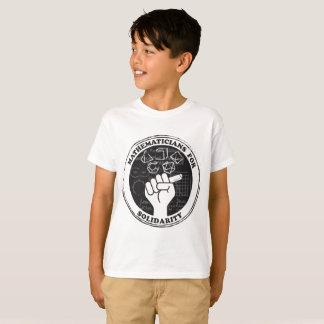 Matemáticos para la camiseta de la solidaridad -