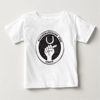Matemáticos para la camiseta de la unidad - bebé